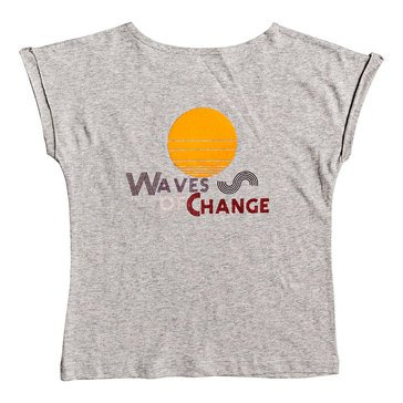 Roxy Big Girl's Lost In Dream Waves Tee