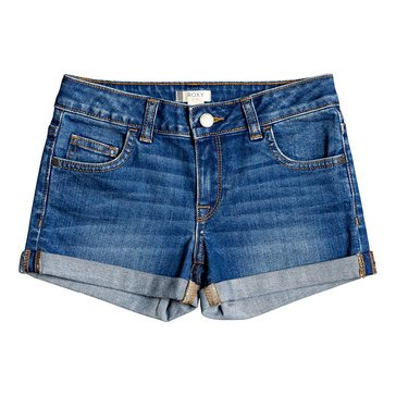 Roxy Big Girls' Lullaby Tonight Denim Shorts