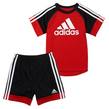 Adidas Baby Boys' Urban Sport Tee & Shorts Set