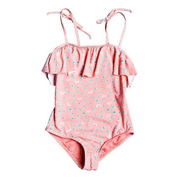 Roxy Girls Splash Party One Piece Swim