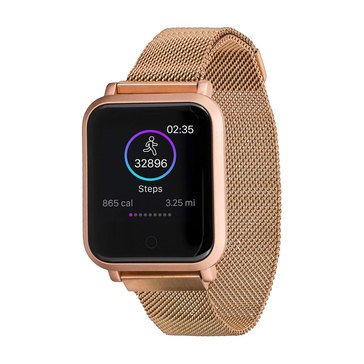 iTouch Unisex Air 2S Rose Gold Bracelet Watch, 40mm