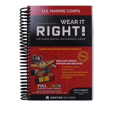 Mentor USMC Wear Guide