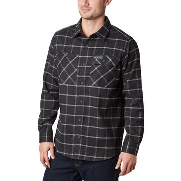 Columbia Men's Outdoor Elements Stretch Flannel Shirt