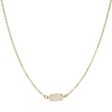 Panacea Compressed Drusy Small Pendant Necklace