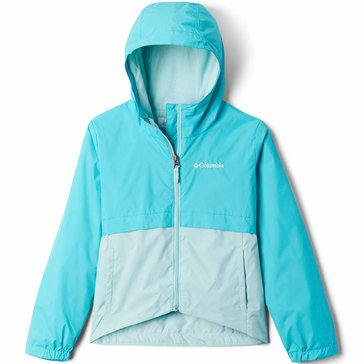 Columbia Big Girl's Rain-Zilla Lightweight Jacket
