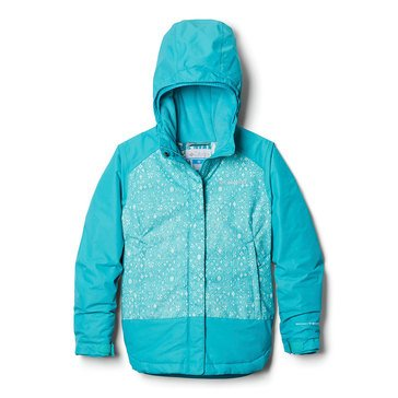 Columbia Little Girl's Mighty Mogul Heavyweight Jacket