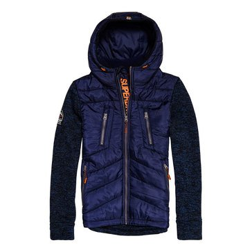 Superdry Men's Storm Hybrid Zip Hood Jacket