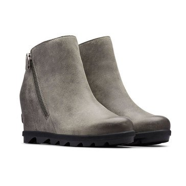 Sorel Joan of Artic Wedge II Zip Waterproof Leather Bootie