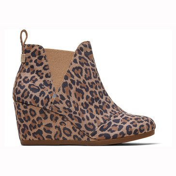 Toms Kelsey Gored Wedge Bootie
