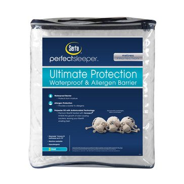 Serta Perfect Sleeper Ultimate Protection Waterproof And Allergen Barrier, Twin