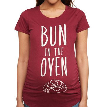 Motherhood Maternity Bun in the Oven Graphic Tee