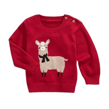 First Impressions Baby Boys' Llama Sweater