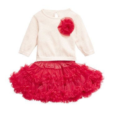 First Impressions Baby Girls' Statement Skirt Set