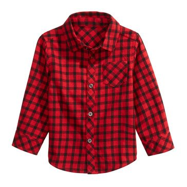 First Impressions Baby Boys' Check Shirt