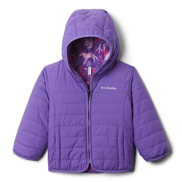 Columbia Toddler Girl's Double Trouble Mid Weight Jacket