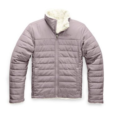 The North Face Big Girl's Reversible Mossbud Swirl Jacket