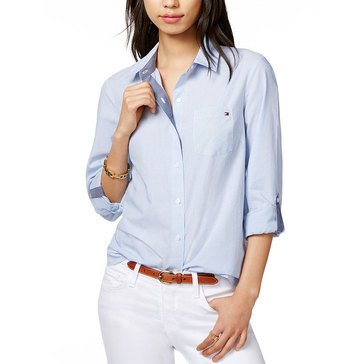 Tommy Hilfiger Women's Micro Striped Shirt