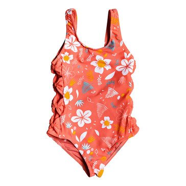 Roxy Little Girls' Fruity Shake 1-Piece Swimsuit