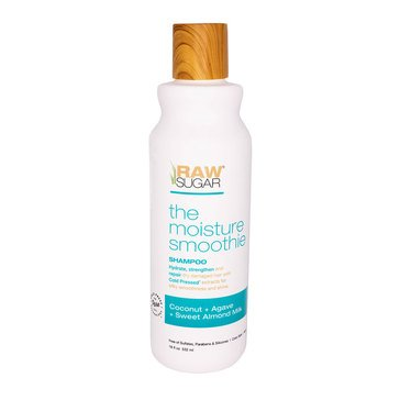 Raw Sugar The Moisture Smoothie Coconut Agave Sweet Almond Milk Shampoo 18oz