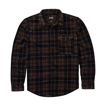 Men's Billagong Furnace Printed Polor Fleece Flannel