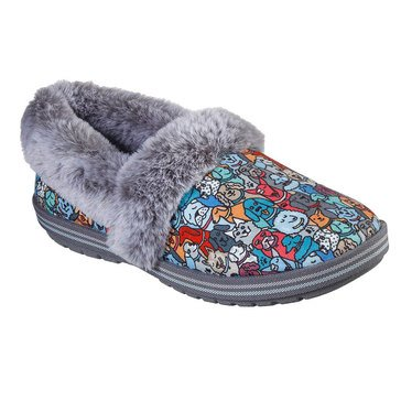 Skechers Bobs Women's Too Cozy Pooch Parade Slipper