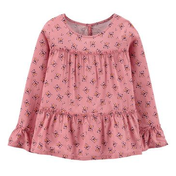 Carters Little Girls' Floral Peasant Blouse