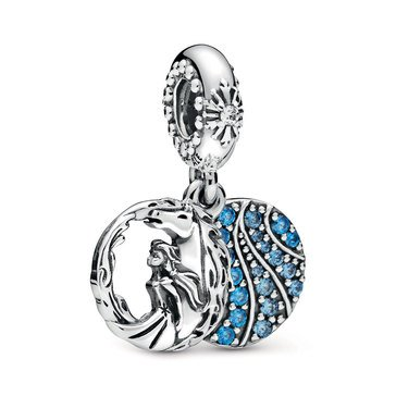 Pandora Disney Frozen Elsa and Nokk CZ Dangle Charm