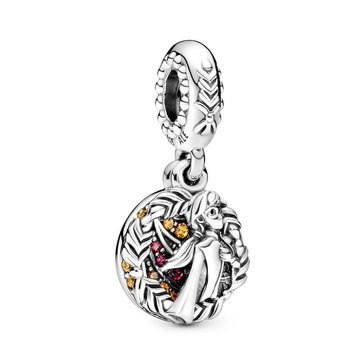 Pandora Disney Frozen Anna CZ Dangle Charm