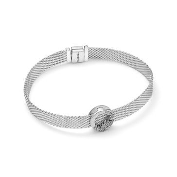 Pandora Reflexions Sparkling Icicles Bracelet and Clip Charm Gift Set