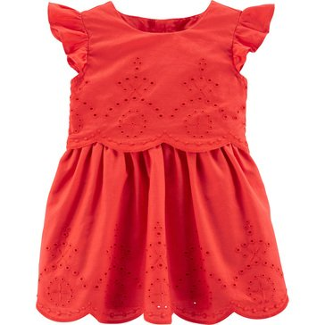 Carters Baby Girls' Eyelet Dress