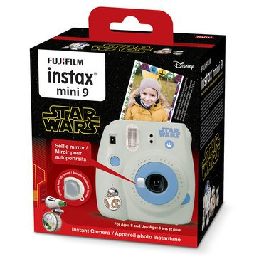 Instax Mini 9 Star Wars Bunde Edition
