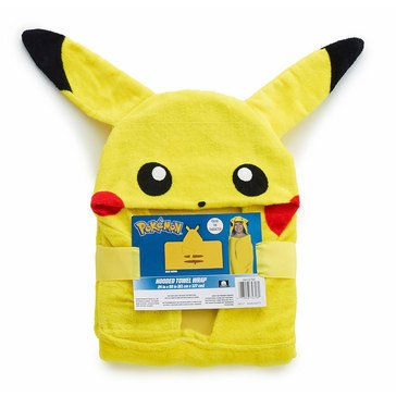 Pokemon Hooded Bath Towel
