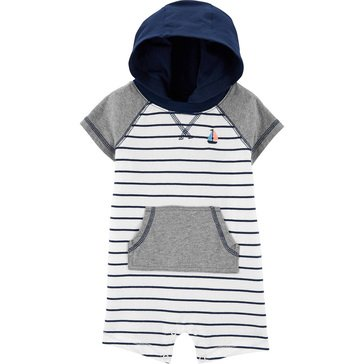 Carters Baby Boys' Hooded Romper
