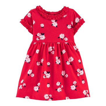 Carters Baby Girls' Poppies Dress