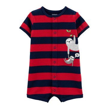 Carters Baby Boys' Sloth Snap Up Romper