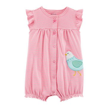 Carters Baby Girls' Chicken Snap Up Romper