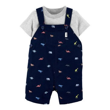 Carters Baby Boys' 2-Piece Dino Shortall Set