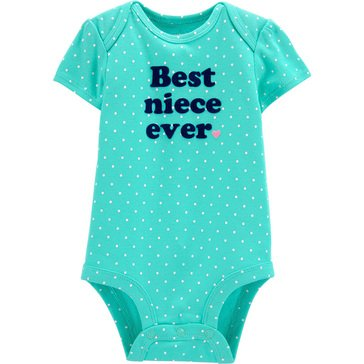 Carters Baby Girls' Best Niece Bodysuit