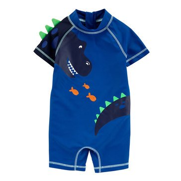 Carters Baby Boys' 1-Piece Dino Swimsuit