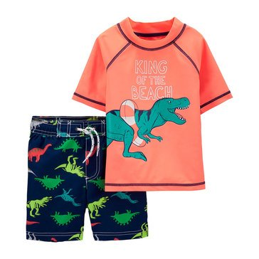 Carters Baby Boys' 2 Piece King Of The Beach Swimwear Set