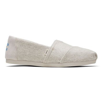Toms Women's Alpargata Shearling Slip-On Shoe