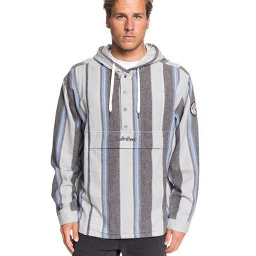 Quiksilver Men's Neo Inca Baja Pullover Hooded Jacket
