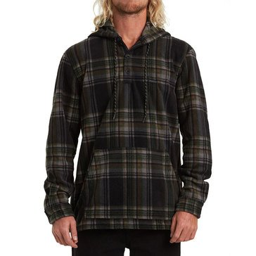 Billabong Men's Furnace Anorak Fleece Flannel Shirt