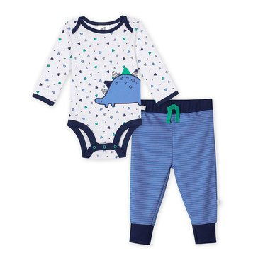 Just Born® Organic Dino 2-Piece Set