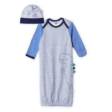 Just Born® Organic Dino Gown With Cap