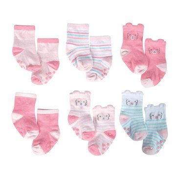 Just Born® Organic Lamb Socks 6pk