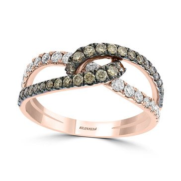 Effy 14K Rose Gold 3/4 cttw Diamond Ring