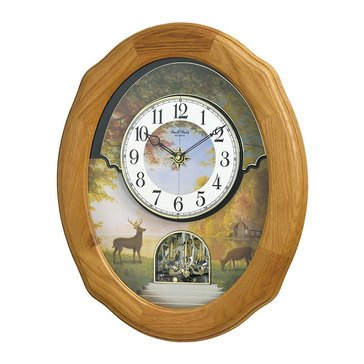 Rhythm USA Joyful Sunset Wall Clock