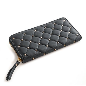 Chico's Women's Quilted Studded Wallet