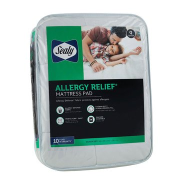Sealy Allergy Relief Mattress Pad